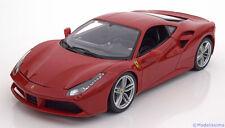 1:18 Bburago Ferrari 488 GTB 2015 red