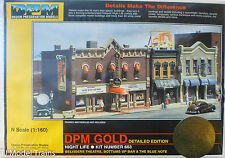 DPM Design Preservation Models #66300 Night Life /Buildings (N Scale)