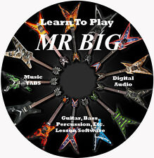 Mr Big Guitar TABS Lesson CD 71 Songs + Backing Tracks + BONUS!
