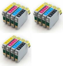 3 Sets Non-OEM Ink Cartridges T0715 for Epson DX7400 DX7450 SX410 SX415 SX218