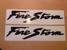 firestorm x2 fuel tank,helmet,forks,motorbike,vinyl graphics decals stickers cbr