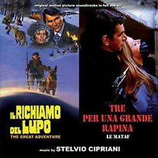 Stelvio Cipriani: Richiamo Del Lupo, Il / Mataf, Le (New/Sealed CD)