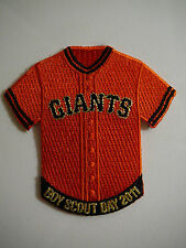 SAN FRANCISCO SF GIANTS 2011 BOY SCOUT DAY PATCH, SGA