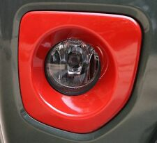 ABS Front Fog Light Lamp Cover Frame Trims for Suzuki Jimny 2012-2015 2pcs Red