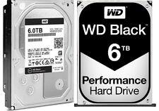 Western Digital 6TB BLACK Performance Hard Drive WD 128mb cache WD6002FZWX