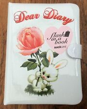 **BRAND NEW** SUCK UK - DEAR DIARY FLASK HIDDEN IN A BOOK