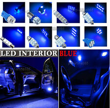 Newest LED Car Interior Light Bulb Package Kit For 2001-2005 Peugeot 307 -- Blue