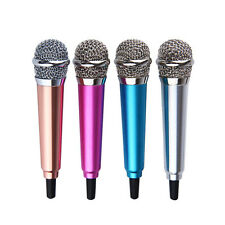 Mini Portable Microphone Top Quality New 3.5mm Wired For Mobile Phone Sing Song