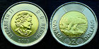 2013 CANADA - 2$ Toonie - Hard to Find - UNC from Mint Roll