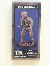 120MM 1/16 RESIN FIGURE BY VERLINDEN 1221. US 3RD INF. DIV. EUROPE, 1944.