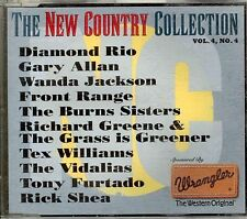 New Country CD Vol4 Nbr4 - Wanda Jackson, Gary Allan, Richard Greene, Rick Shea