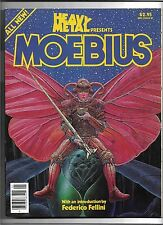 Heavy Metal Presents Moebius Special Ed. #1 FN/VF 1981 Jodorowsky Fellini, Incal