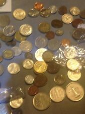 Foreign Coin Lot (200+ Unsearched ) 3 Random Coins + 1 FREE PER Lot!!! (4 COINS)