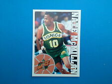 1995-96 Panini NBA Basketball Sticker N.266 Nate McMillan Seattle SuperSonics