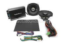 Rockford Fosgate R1-HD2-9813 2-Channel Harley Motorcycle Amplifier 2x Speakers