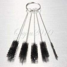 Set of 5 Mini Cleaning Nylon Brushes Pipe Sink Cepillo limpieza Tuberías Tubo