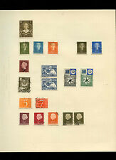 Netherlands Album Page Of Stamps #V4063