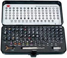 """Wurth Zebra 1/4""""  Bit assortment C 6.3 mm 90 PC Tool Set Bit Box Mechanics Drill"""
