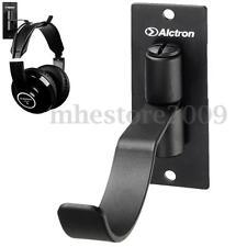 ALCTRON Spin Wall Mount Headphone Steel Holder Hanger Headsets Earphones Hook