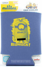Despicable Me Minions Blumock! Can Cooler Beer Koozie Soda Coozie ~ Licensed
