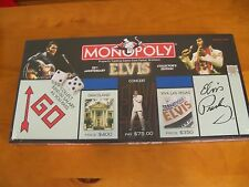 Monopoly Elvis 25th Anniversary Board Game Brand New SEALED Collectors Edition