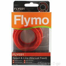 FLYMO Strimmer Spool & Line Manual Feed Mini Trim FLY031 Genuine MT21 ET21 Wire