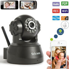 CCTV Wireless Wifi 720P HD P2P IP Network IR Security Camera P/T Night Vision
