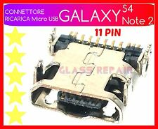CONNETTORE RICARICA Dock Micro USB CONNECTOR x SAMSUNG GALAXY S4 I9505 Note 2 II