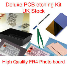 DELUXE PCB BOARD FOTO INCISIONI INCISIONE semplice Set Kit Nuovo UK Stock