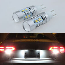 2Pcs T15 921 912 2835 SMD 6000K Bright White LED Back Up Reverse Lights Bulbs