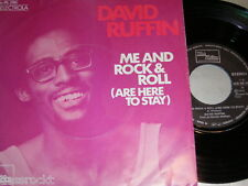 "7"" - David Ruffin / Me and Rock & Roll + Smiling Faces sometimes - 1974 # 0827"
