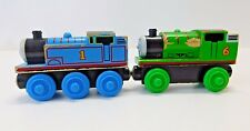 Thomas & Friends Wooden Railway Wood Train Thomas & Percy Lot