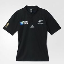 adidas All Blacks Rugby World Cup Home Jersey Size XS Black RRP £65 BNWT S88884