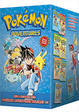 Pokemon Adventures Red & Blue (Manga) Box Set (Vol 1-7) - (Manga) - BRAND NEW