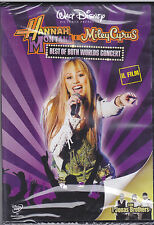 Dvd Disney **HANNAH MONTANA E MILEY CYRUS ♥ BEST OF BOTH WORLDS CONCERT** 2008