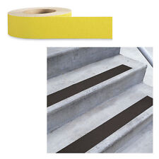Low Vision Anti-Slip Adhesive Tape: Yellow - 2 Inch Wide