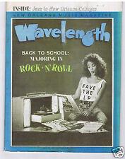 WAVELENGTH NEW ORLEANS MUSIC MAGAZINE SEPTEMBER 1989