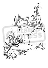 A7 'Majestic Unicorn' Unmounted Rubber Stamp (SP005260)