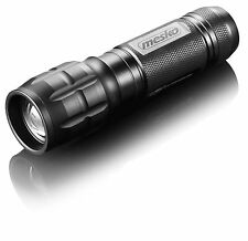 Linterna SWAT mano lámpara 3000lm Police Flashlight LED 600m alcance negro
