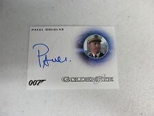 2016 James Bond Classics Pavel Douglas as French Captain Autograph Card A281