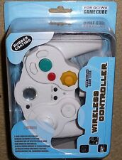 NINTENDO GAMECUBE & WII WIRELESS CONTROLLER GAMEPAD CONTROL PAD BRAND NEW! White