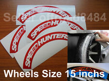 Speedhunters TireBomb Custom  tire stencil Decals Wheels 15'' Drift formula