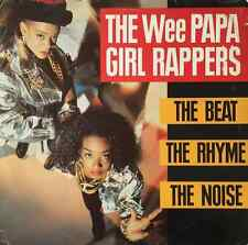 WEE PAPA GIRL RAPPERS - The Beat, The Rhyme, The Noise (LP) (VG-/F+)