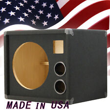 1X12 w/Tweeter Empty Bass Guitar Speaker Cabinet