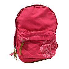 Aeropostale Aero Backpack Pink Bag Zipper Bookbag Womens Petunia School New Nwt