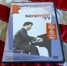 RAY BRYANT JAM '77 Sealed DVD Eagle Rock Entertainment MONTREUX