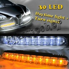 2pcs DRL daytime running lights 30 LED daylight kit for Car Truck SUV Trailer RV
