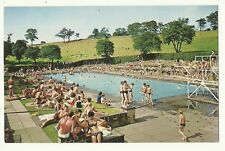 Sheffield - a photographic postcard of Swimming Pool, Longley Park