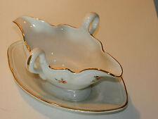 VINTAGE ancien SAUCIERE porcelaine LUNEVILLE KG porcelain SAUCE BOAT Saucieren