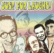 """JUST FOR LAUGHS"" Holloway, Howerd, Askey, Wall, Miller & More - REXX 306 [2 CD]"